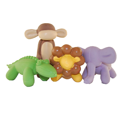Charming Balloon Jungle Dog Toys