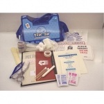 Bow Ow First Aid Kit For Dogs In Canvas Bag