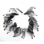 Charming Party Collar Black/White