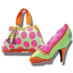 Fashion Shoes And Purses Dog Toy