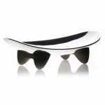 Fat Cat Stainless Steel Pet Dish