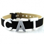 Industrial Style Collar Cat Charms