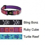 Lupine 1 Inch Dog Collar