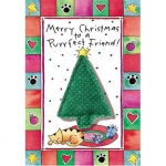 Purrfect Greetings Holiday Card For Cats