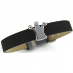 Rhinestone Crown Collar Charm