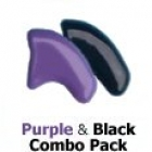 Soft Claws For Cats Purple Black Combo