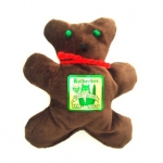 Teddy Bear Holiday Catnip Toy